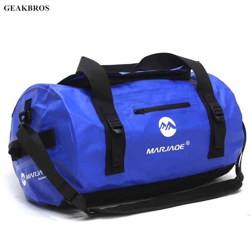 30/60/90L Waterproof Swimming Bag Outdoor Backpack Bucket Dry Sack Storage Bag for Rafting Sports Kayaking Canoeing Travel