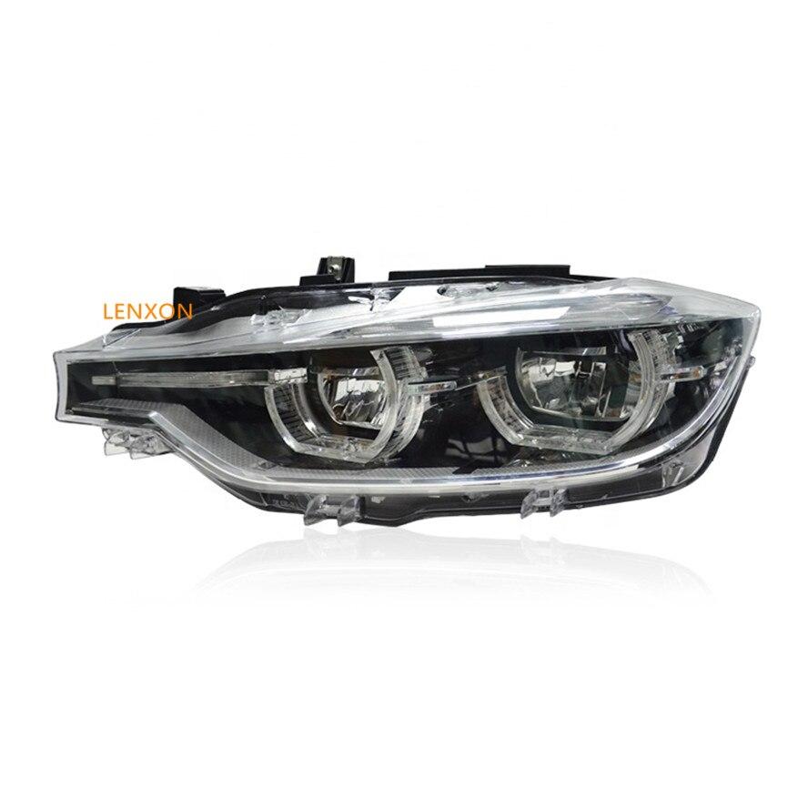 لينكسون قطع غيار السيارات المصباح مع LED الكامل ل 3 سلسلة F30 ترقية الهالوجين مع وحدات التوصيل والتشغيل مباشرة