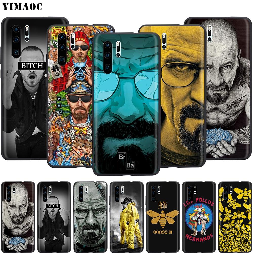 YIMAOC Heisenberg rompiendo mal funda de silicona para Huawei Mate 10 P8 P9 P10 P20 Lite Pro P Y7 Y9 inteligente 2017 Mini 2018