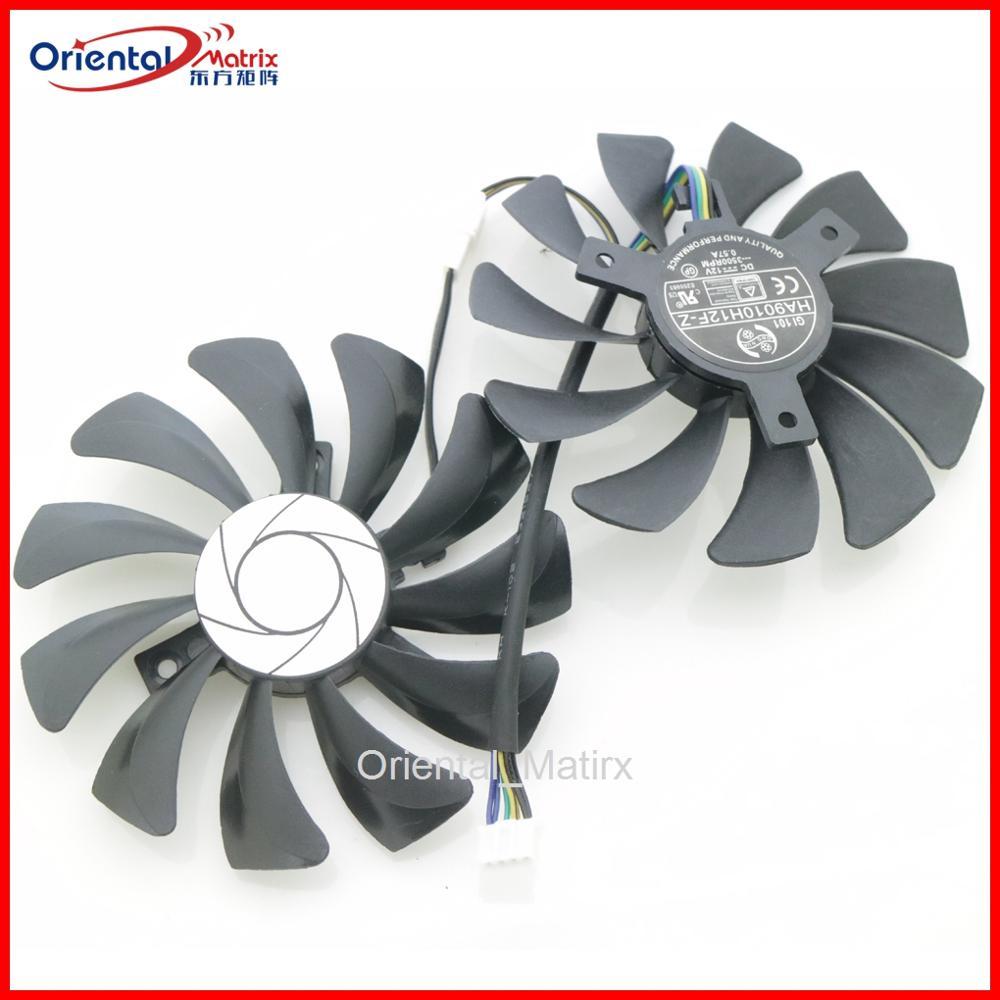 HA9010H12SF-Z HA9010H12F-Z 12 В 0.57A 85 мм 4 провода 4Pin для MSI Dataland Вентилятор Охлаждения видеокарты