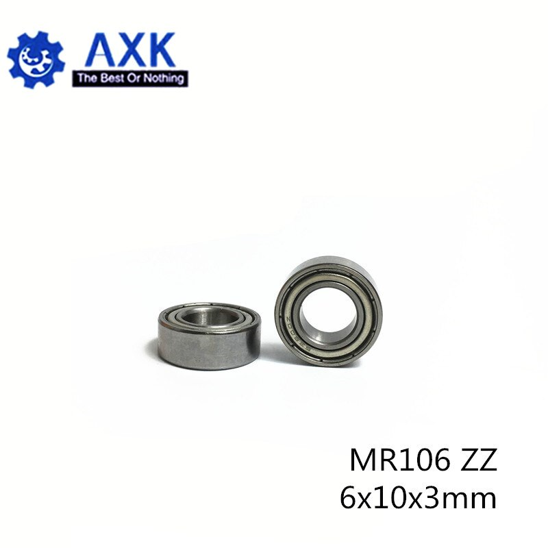 MR106ZZ Lager ABEC-5 (10PCS) 6*10*3mm Miniatur MR106Z Kugellager MR106 ZZ L1060ZZ