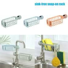 Porte-éponge de rangement de vaisselle   Étagère de rangement de cuisine, salle de bain évier robinet éponge savon et tissu, égouttoir de vaisselle à savon, porte-éponge organisateur 1 pièce