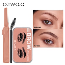 Eyebrow Soap Brow Styling Balm Cosmetic Waterproof Eyebrow Lift  Brow Sculpt 3D Feathery Brows Kit W