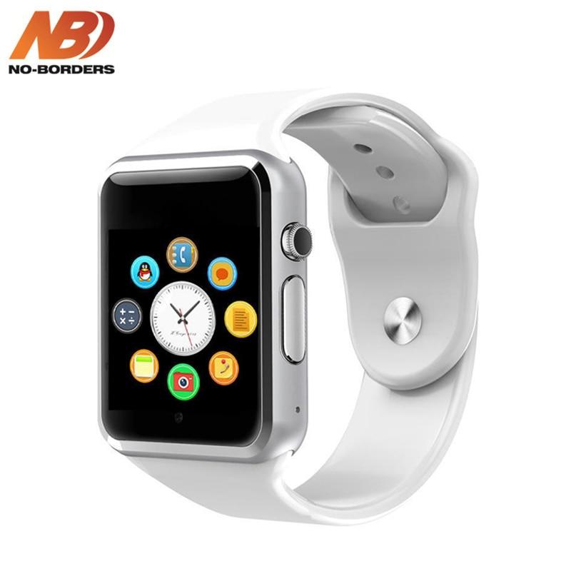 2020 más vendidos A1 reloj Bluetooth inteligente reloj podómetro con cámara SIM Smartwatch para Android Apple PK iwo 8 W34 reloj