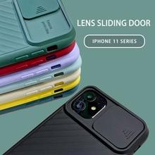 Lovebay Protecteur Caméra Antichoc Étui de Téléphone Pour iPhone 11 Pro X XS XR Max 7 8 Plus Souple En Silicone TPU Couverture Arrière Mat Fundas