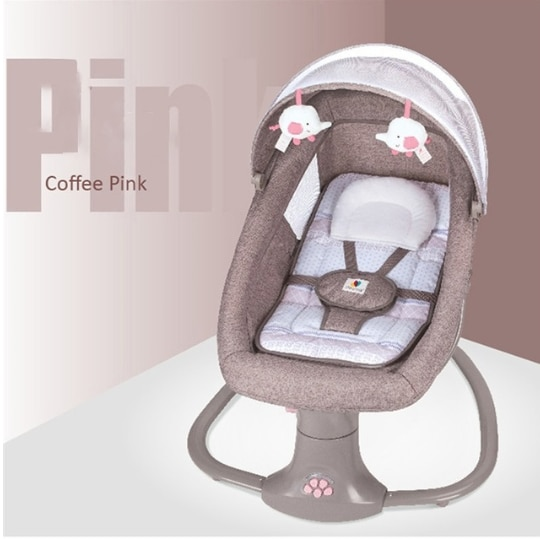 Child comfort chair reclining chair Baby Electric Rocking Chair Newborns Sleeping  Cradle Bed  for baby 0-3 years old