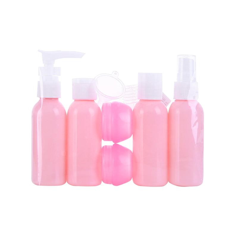 6pcs Portable Travel Bottle Set Spray Bottle for Shampoo Perfume Emulsion Lotion Cream