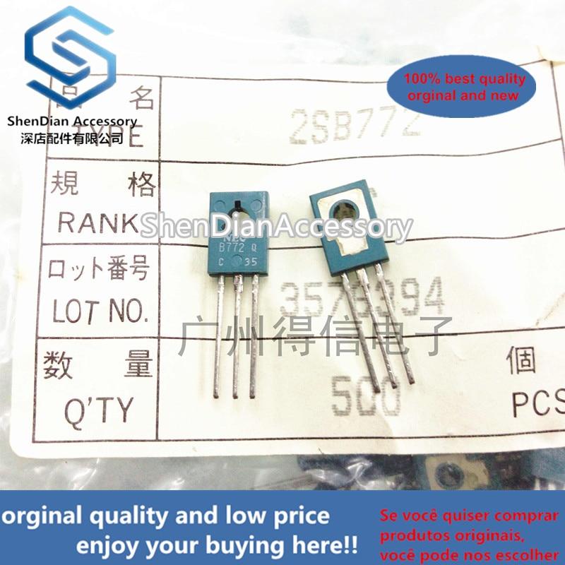 10 Uds 100% nuevo y original 2SB772Q B772 a-126 PNP silicona Transistor de potencia media en stock