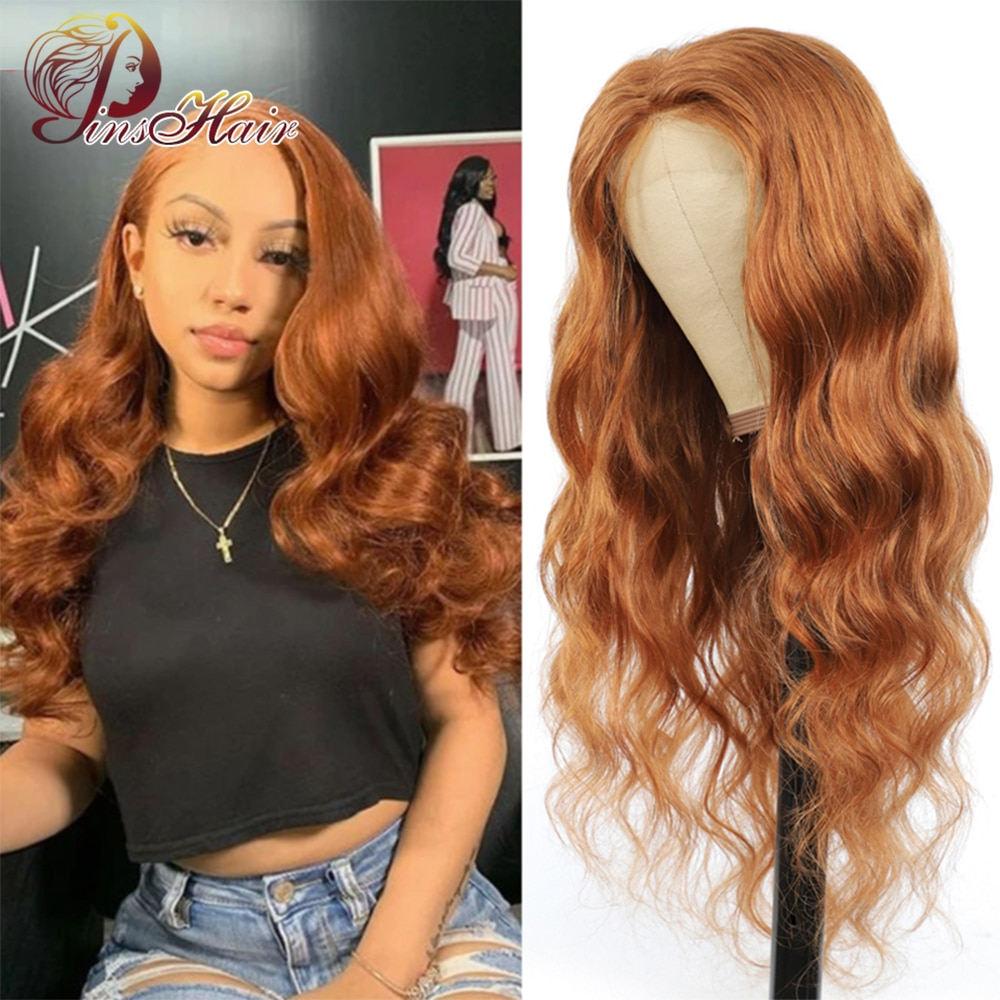 #30 Blonde Body Wave Human Hair Wigs 13x4 Lace Frontal Wig Human Hair Brazilian Remy T Part Lace Fro