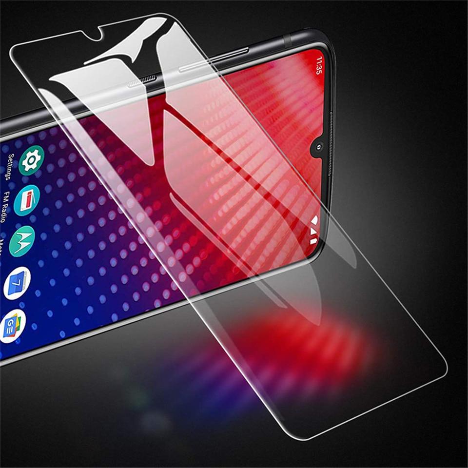 Vidrio templado para Moto una Zoom acción visión de Z4 Z3 Z2 Z jugar fuerza de cristal del teléfono para