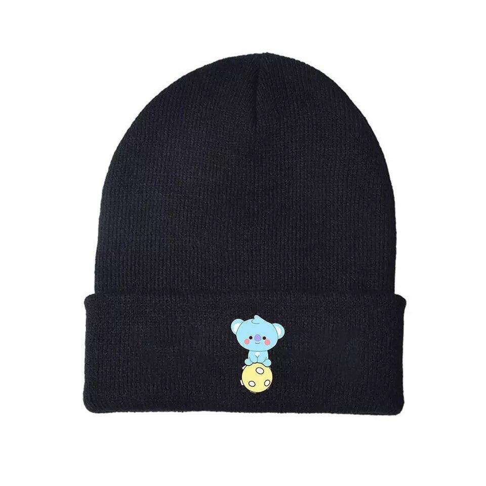 WYBTS Bulletproof Youth Group Peripheral knitted hats, warm and cold woolen hats, students fall and winter bhandari vipul reddy jagdeesh thapliyal sneha mooren s ulcer and peripheral ulcerative keratitis