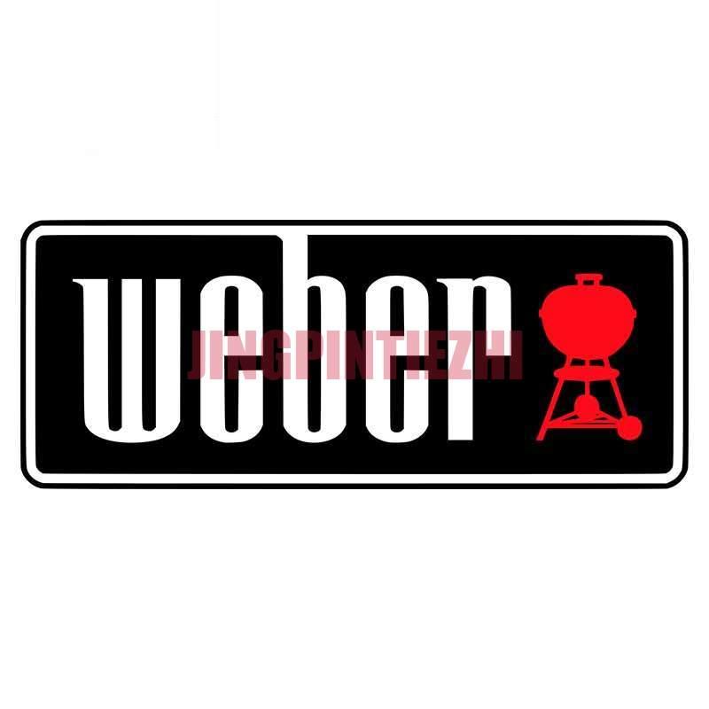 Реалистичные автомобильные наклейки и наклейки Вебер, оригинальный креативный устойчивый к царапинам водонепроницаемый Декор