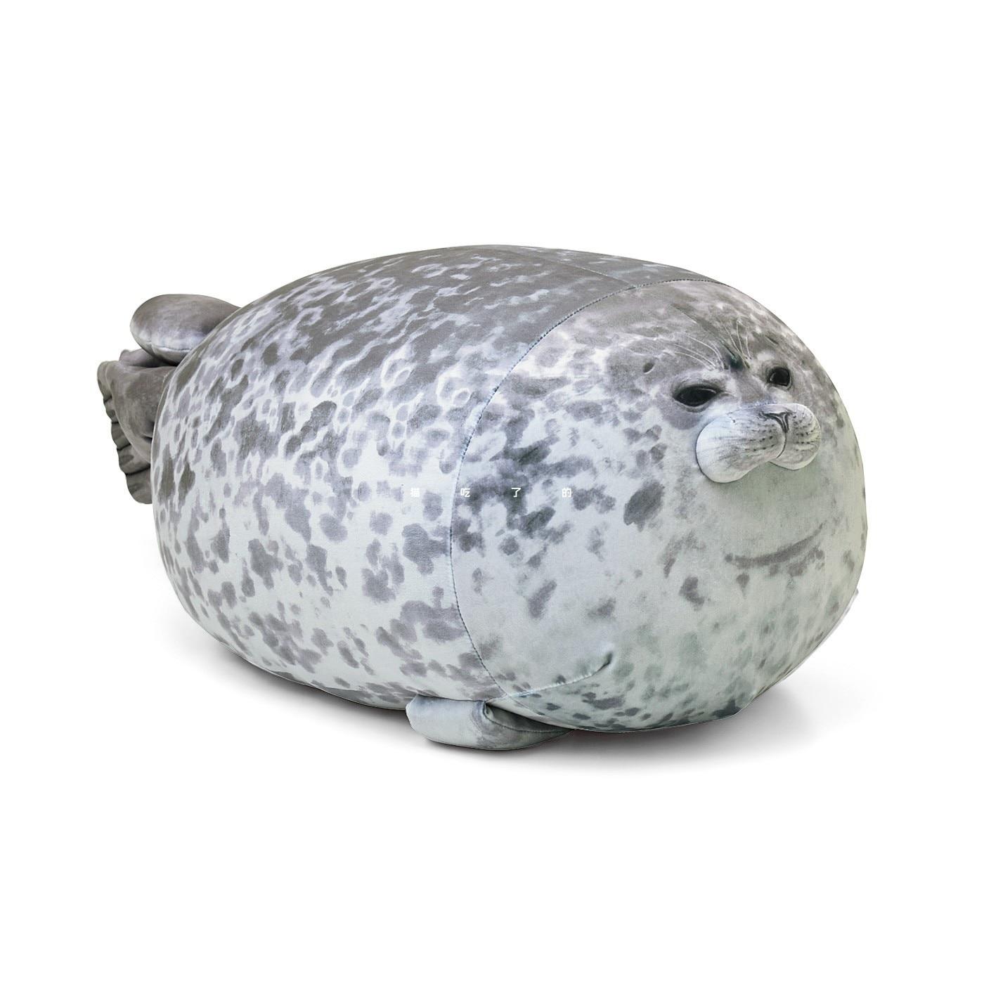 Seal Shaped Throw Pillows Kids Cute Cartoon Soft 3D Plush Sea World Animal Baby Sea Lion Plush Stuffed Sleeping Pillow Doll Toy