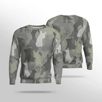camouflage dog 3d printed women for men funny christmas sweater sweatshirt autumn funny harajuku streetwear pullover 02
