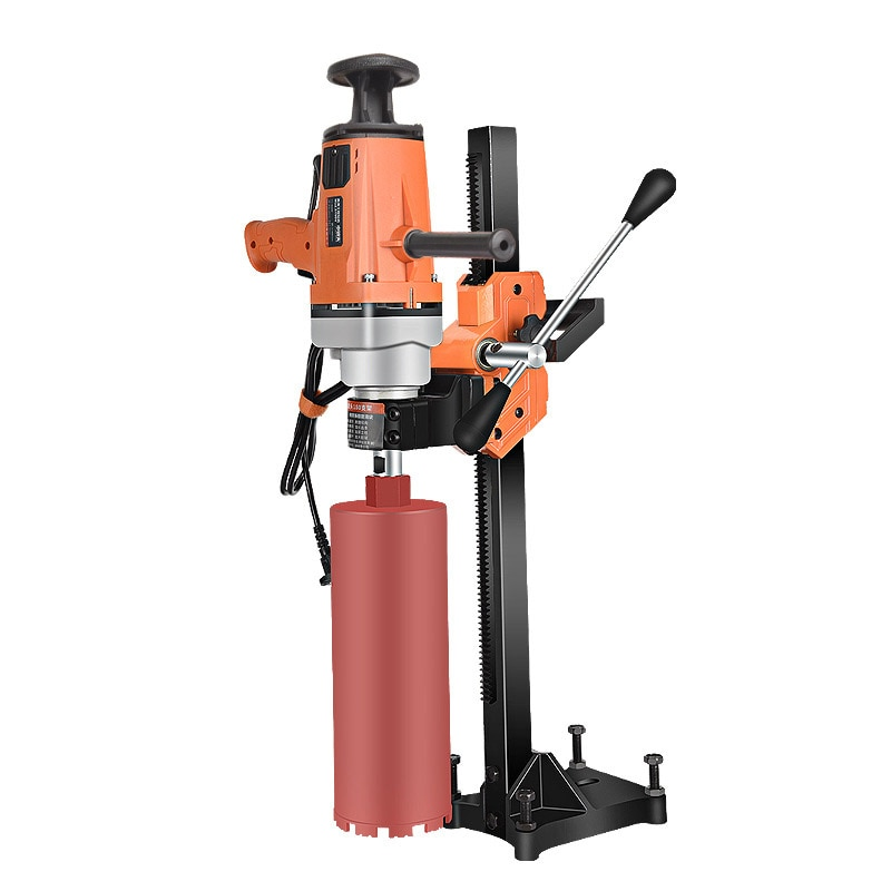 220V Small Dual-Purpose Desktop Water Drilling Machine High-Power Air-Conditioning Drilling Engineering Diamond Perforate Engine
