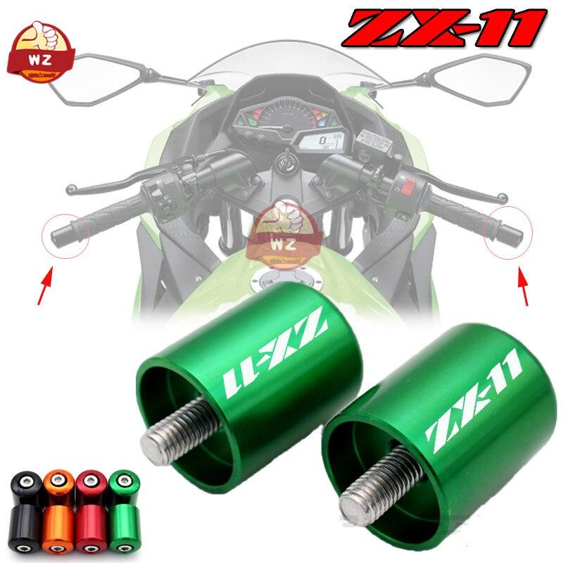 Para KAWASAKI NINJA ZX-11 ZX11 1990-2001 accesorios de motocicleta empuñaduras de manillar...