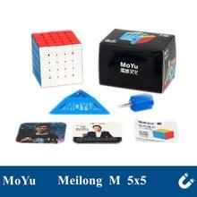 MoYu Meilong 5 M 5x5x5 Cube magique magnétique 5x5 Cube de vitesse Puzzle éducatif jouets pour enfants