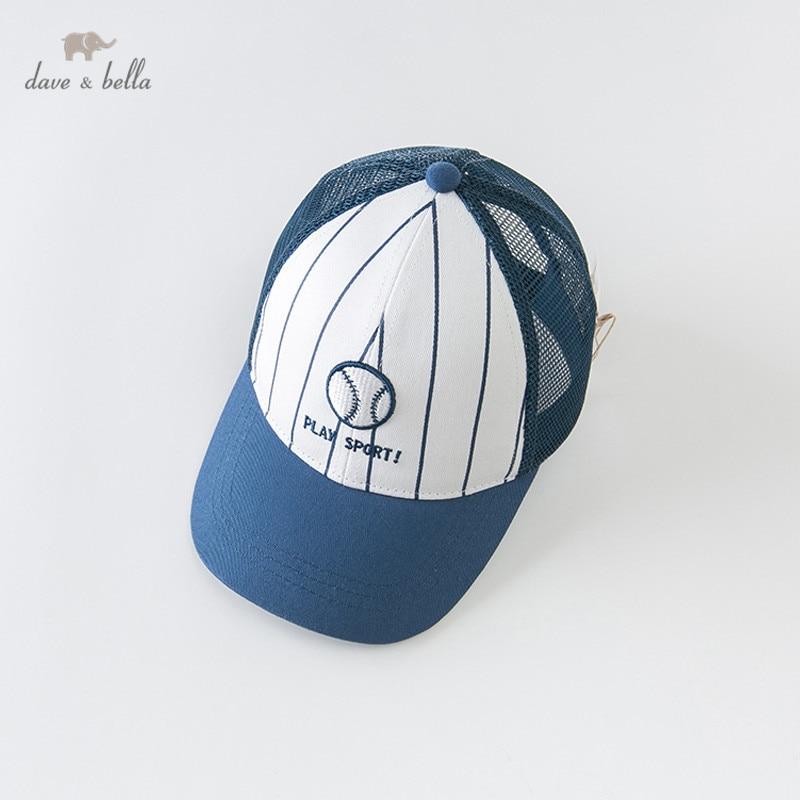 DBX12816 Dave Bella Zomer Unisex Baby Baseball Cap Kinderen Boutique Hoed Sport Wear