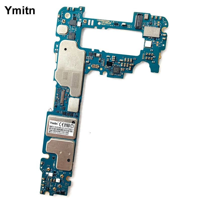 Ymitn-لوحة رئيسية مع لوحة إلكترونية لجهاز LG V40 ThinQ, V405EBW V405EB V405UAB UA0 UA ، لوحة منطقية