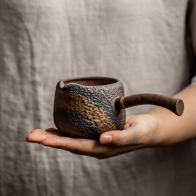 LUWU-إبريق شاي من السيراميك ، شاي الكونغ فو الصيني ، إكسسوارات