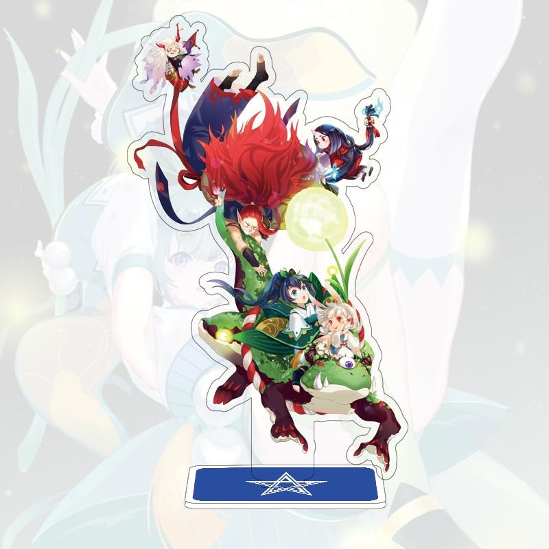 Anime 15 cm hohe Onmyoji Cosplay Dämon Fuchs aoandon Stand Platte Modell