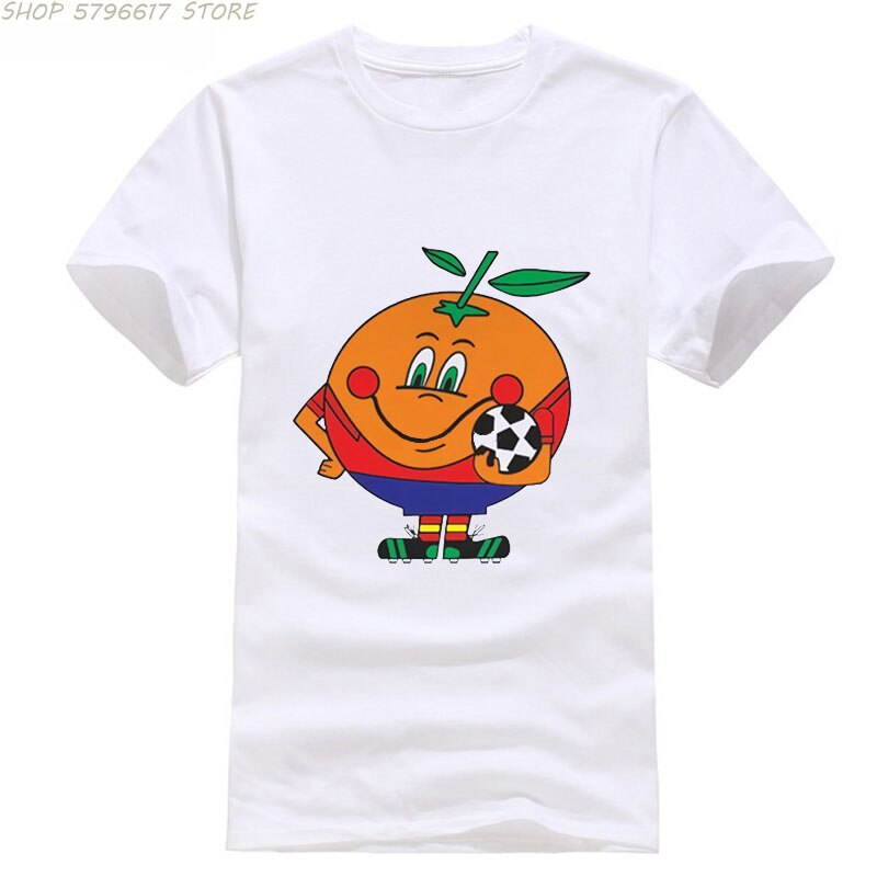 2021 Summer New Fashion Men Print T Shirt Spain 82 T-Shirt World Footballer 1982 Cup Goal for Anime Style Mens Short Sleeve