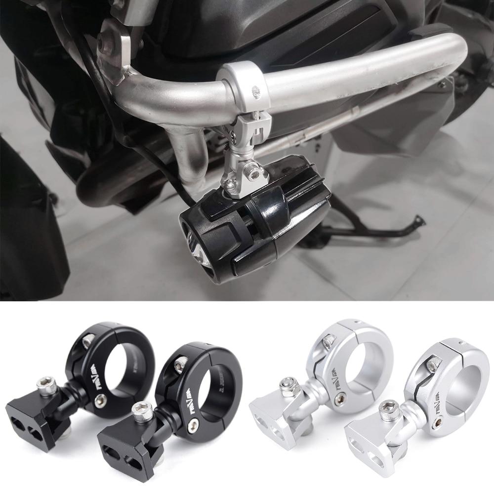 Soporte de montaje OD de 28-32mm para faro delantero modificado de motocicleta,...
