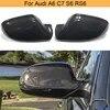 Couvercle de rétroviseur en Fiber de carbone pour Audi A6 C7 S6 RS6 2012 – 2016