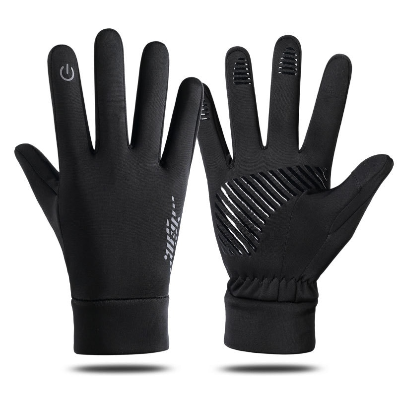 Autumn Winter Touch Screen Cycling Gloves Windproof Outdoor Sport Ski Gloves For Bike Bicycle Scoote