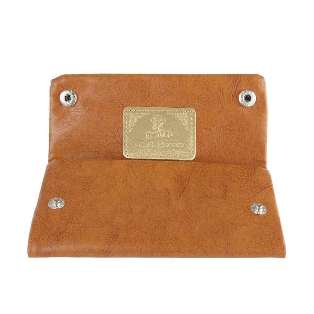 Nueva llegada bolsa de tabaco de PU con 78 MM titular de papel tabaco cartera bolsa monedero bolsa