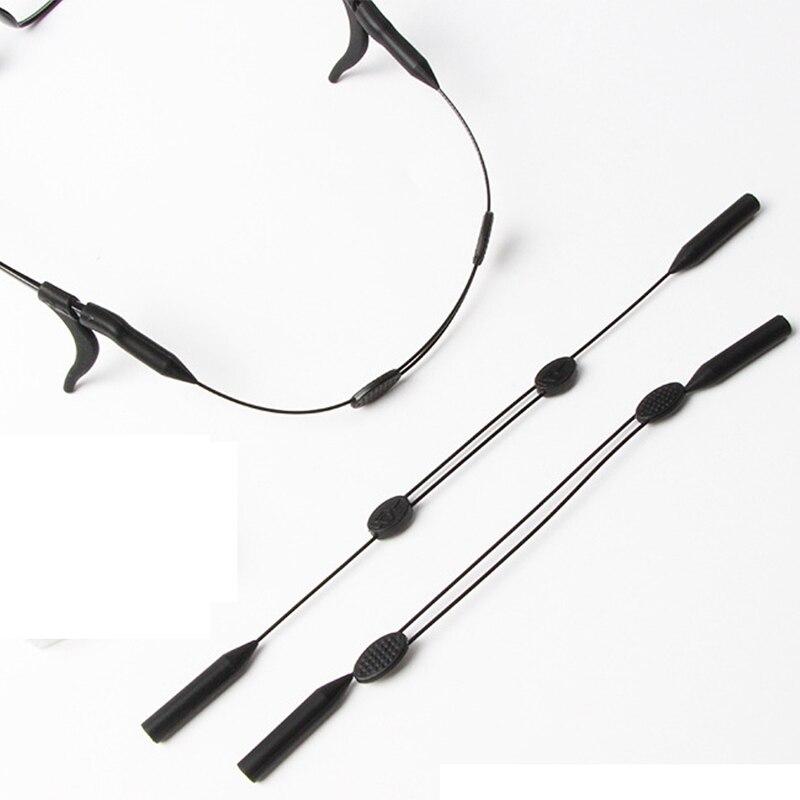 1 uds, gafas de silicona escalables Unisex, correa para el cuello, cordón deportivo, gafas de sol, cuerda de soporte para cuerda cordón para gafas