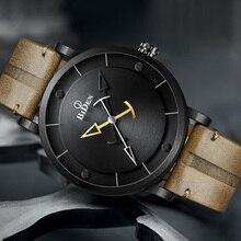 Mode hommes montres BIDEN marque décontracté classique minimalisme homme montre-bracelet étanche cadeau