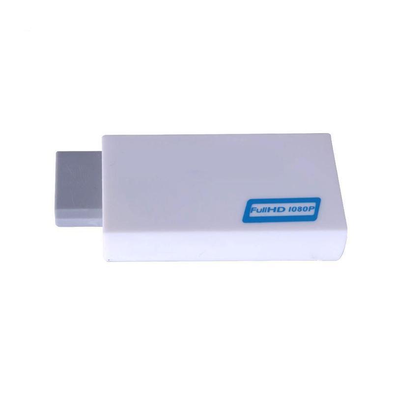 Wii compatible con HDMI Adaptador convertidor 1080p Full HD TV conector de...