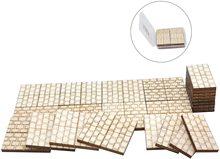 """Подземелье каменная квадратная напольная плитка (набор из 24) деревянная лазерная резка D & D модульная местность 1 """"сетка"""