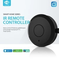 Tuya     telecommande universelle infrarouge  wi-fi  pour maison connectee  pour TV  DVD  AUD  AC  fonctionne avec Amz  Alexa  Google Home