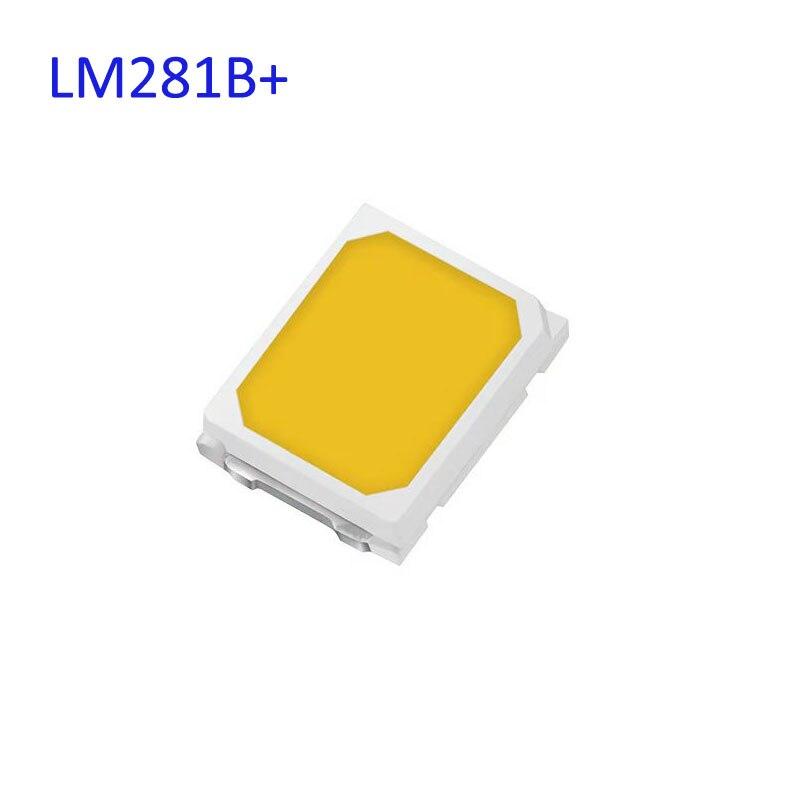 202 lm/w maior eficácia mid power leds lm281b + pro 0.5 w, 3 v mid power led fluxo luminoso 35.5 lm @ 65 ma