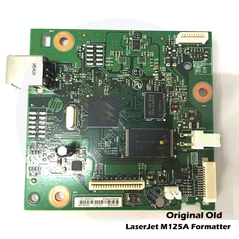 Original New For HP M125NW 125NW M126NW M125 Formatter PCA Assembly Formatter Board Logic MainBoard CZ173-60001 CZ172-60001