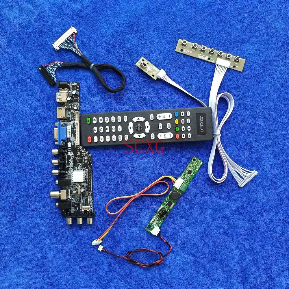 Fit HM200WD1/LM200WD3/LM200WD4 VGA USB HDMI-متوافق LED LCD 30 دبوس LVDS KIT 1600*900 لوحة التحكم في العرض إشارة رقمية