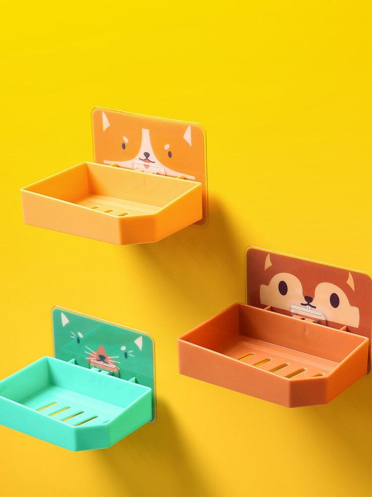 Мультяшная Коробка для мыла, ванная полка для хранения, Коробка для мыла, дренаж для мыла, Коробка для мыла, Коробка для мыла, дренаж для мыла,...