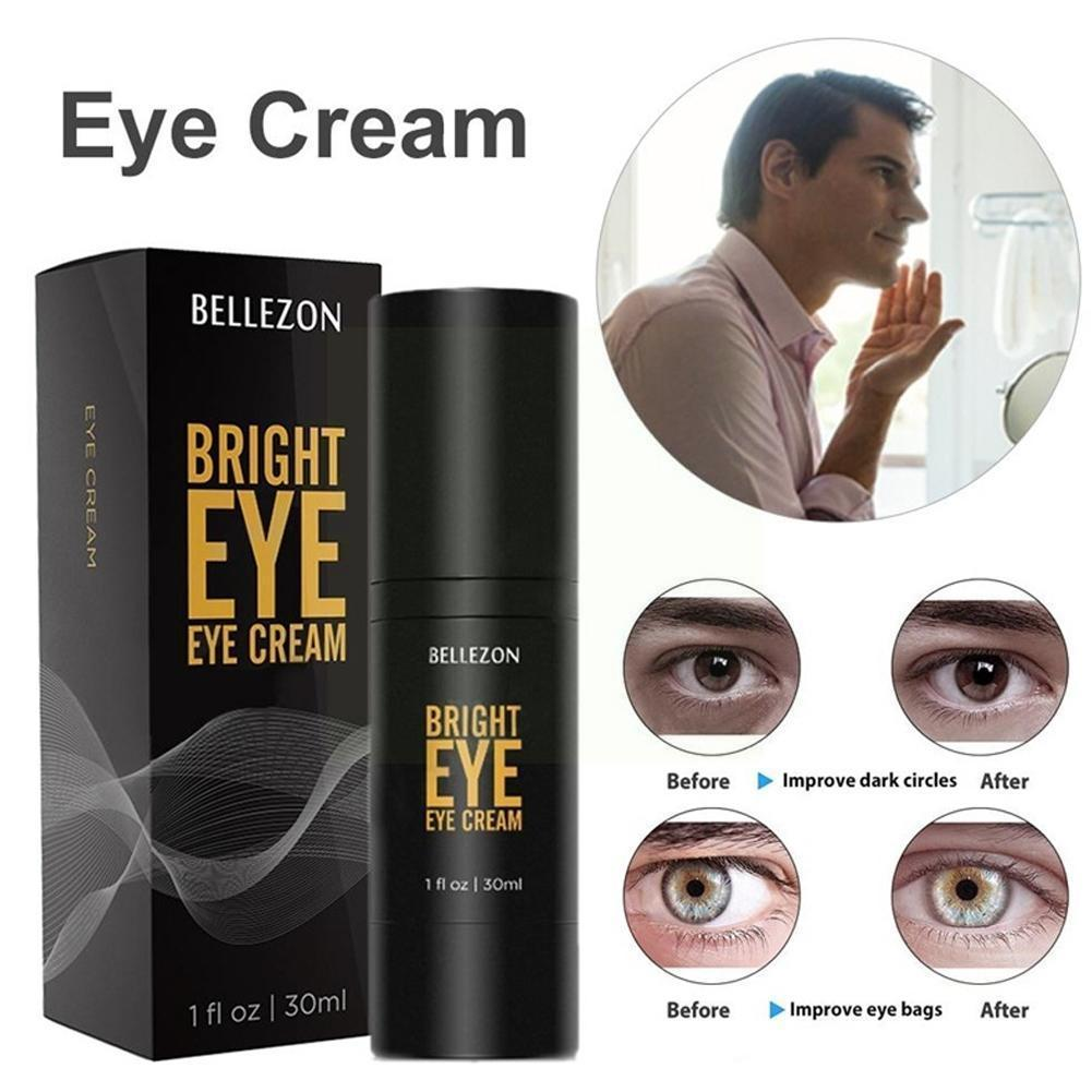 Men Day and Night Anti Firming Eye Cream Skin Care Eye Puffiness Black Fine Face Care Wrinkles Lines