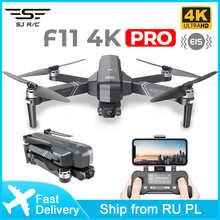Профессиональный Квадрокоптер SJRC F11 4K Pro, складной 2-осевой стабилизированный кардан с камерой, GPS, Wi-Fi, FPV