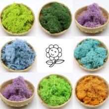 Artificial Plant Moss Impurity-free Eternal Flower Material Moss DIY Flower Mini Garden Micro Landscape Accessories Home Decor