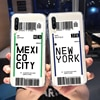 Bilet miejski upoważniający etui do Samsung Galaxy A50 A70 A40 A10 A10e A20e A80 S10 S8 S9 J6 Plus J8 A6 A9 A7 A8 2018 uwaga 10 9 miękka TPU Coque