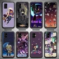 the owl house cartoon phone case for galaxy j2pro j4 j5 j6 j7 plus j5 prime j72016 2018 m 10 20 30 funda cover