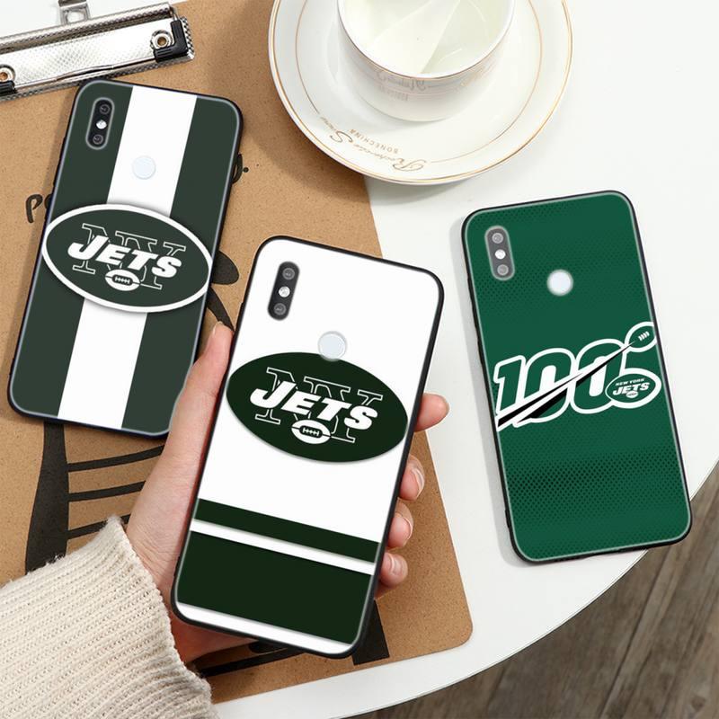 N-los Jets de Nueva York suave funda de teléfono para Xiaomi 8...