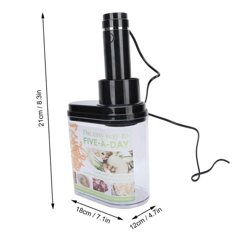 Electric Vegetable Cutter Food Fruit Chopper Mincer Shredder Kitchen Appliance CN 220V Household Supplies