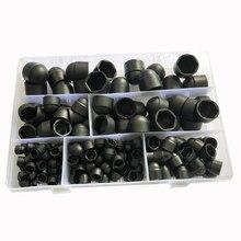 Le capuchon de Protection de dôme blanc noir couvre les Kits dassortiment de boulons décrou en plastique PE à six pans creux exposés
