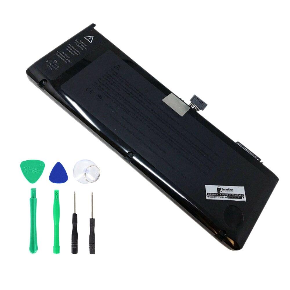 """Nueva batería de ordenador portátil A1382 para MacBook Pro de 15 """", 2011 finales de 2011, versión Mid 2012, MC721LL/A MC723LL A1286, batería de repuesto"""