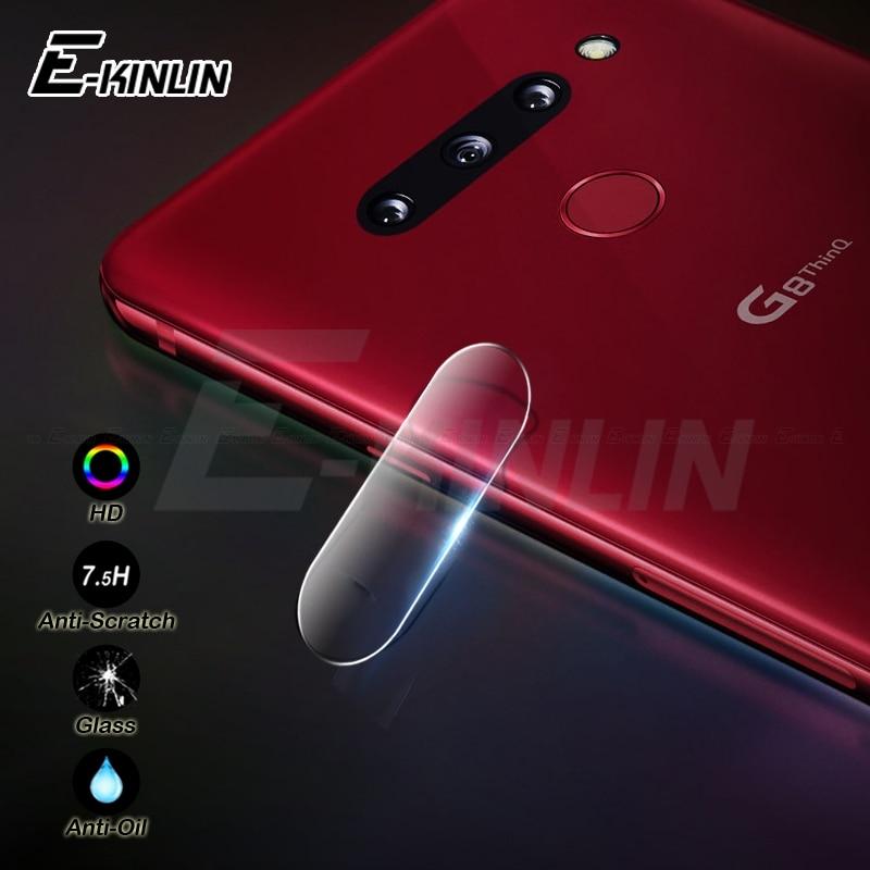 10 piezas cámara trasera lente protectora para LG G7 G8 V40 V30 V30S Plus ThinQ V20 G6 G5 SE película protectora de pantalla de vidrio templado