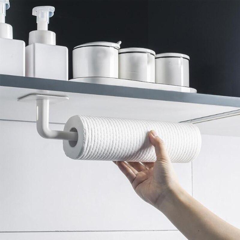 Soporte para papel de cocina, estante enrollable para baño, toallero, esterillas, decoración...